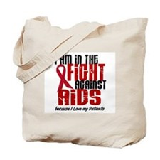 In The Fight Against AIDS 1 (Patients) Tote Bag