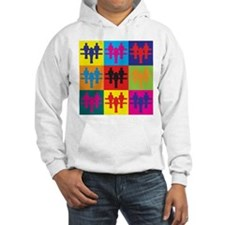 Foosball Pop Art Hoodie