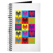 Foosball Pop Art Journal