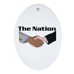 The Nation Oval Ornament