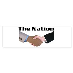 The Nation Bumper Bumper Sticker