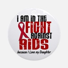 In The Fight Against AIDS 1 (Daughter) Ornament (R