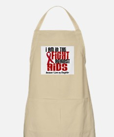 In The Fight Against AIDS 1 (Daughter) BBQ Apron
