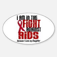 In The Fight Against AIDS 1 (Daughter) Decal