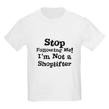 I'm Not a Shoplifter Kids T-Shirt