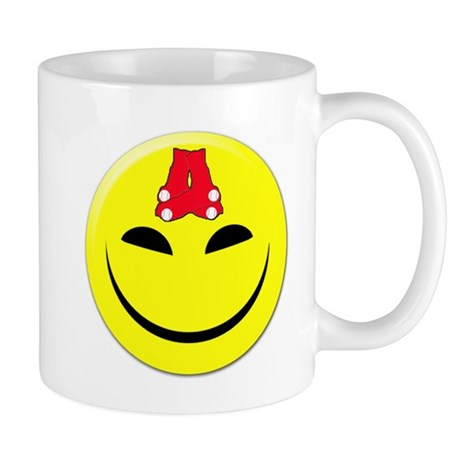 Smiley-Red Sox Mug