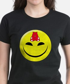 Smiley-Red Sox Tee
