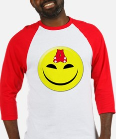 Smiley-Red Sox Baseball Jersey