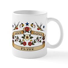 Live Love Flute Mug