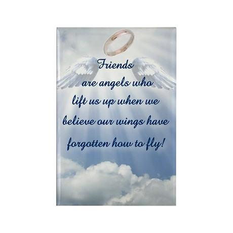 Friendship Angel Rectangle Magnet (100 pack)