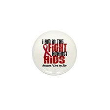 In The Fight Against AIDS 1 (Son) Mini Button (10