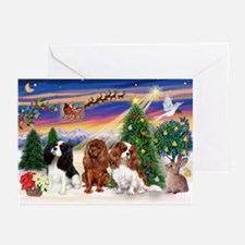Take-Off/3 Cavaliers Greeting Cards (Pk of 10)