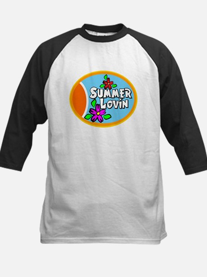 Summer Lovin Kids Baseball Jersey