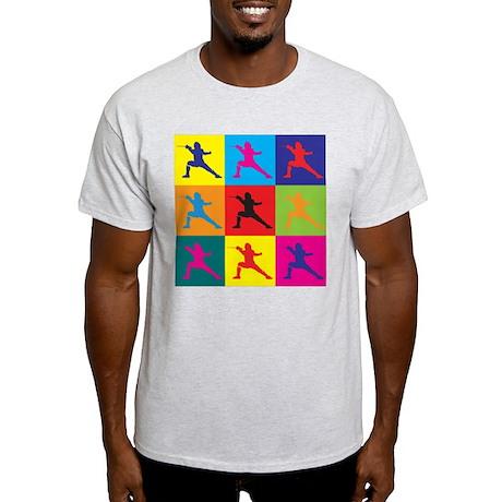 Fencing Pop Art Light T-Shirt