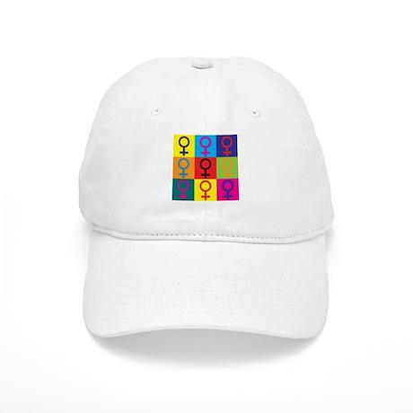 Feminism Pop Art Cap