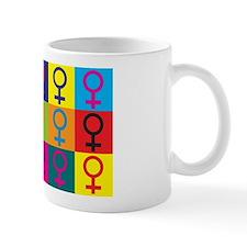 Feminism Pop Art Mug