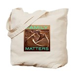 """FAMILY MATTERS"" Tote Bag"