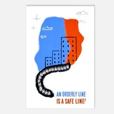Orderly Safe Line Postcards (Package of 8)