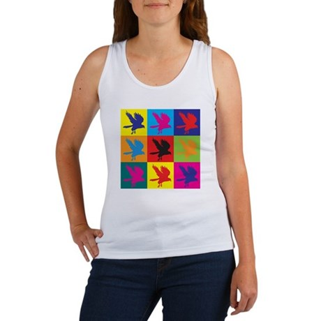 Falconry Pop Art Women's Tank Top