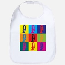 Euphonium Pop Art Bib