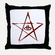 Elder Sign Throw Pillow