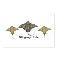 Stingrays Rule Postcards (Package of 8)