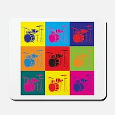 Drums Pop Art Mousepad