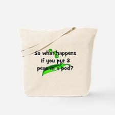 3 Peas In A Pod Tote Bag