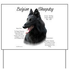 Belgian Sheepdog Yard Sign