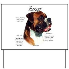 Boxer (natural) Yard Sign