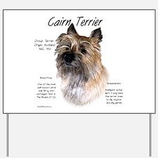 Cairn Terrier Yard Sign