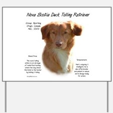 Toller Yard Sign