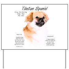 Tibetan Spaniel Yard Sign