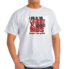 In The Fight Against AIDS 1 (Wife) T-Shirt