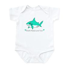 Shark Infant Bodysuit