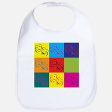 Drama Pop Art Bib