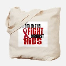 In The Fight Against AIDS 1 Tote Bag