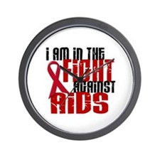In The Fight Against AIDS 1 Wall Clock