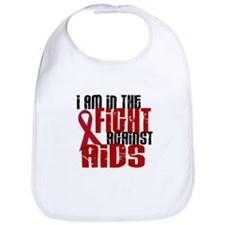 In The Fight Against AIDS 1 Bib