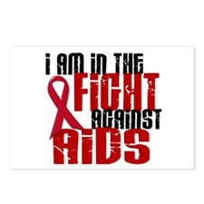 In The Fight Against AIDS 1 Postcards (Package of