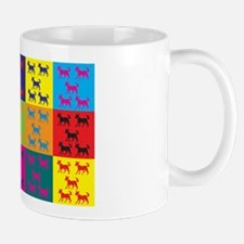 Dog Training Pop Art Mug