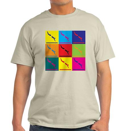 Diving Pop Art Light T-Shirt