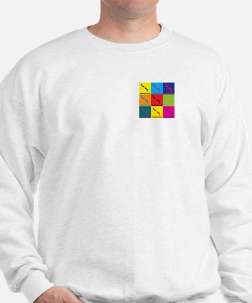 Diving Pop Art Sweatshirt