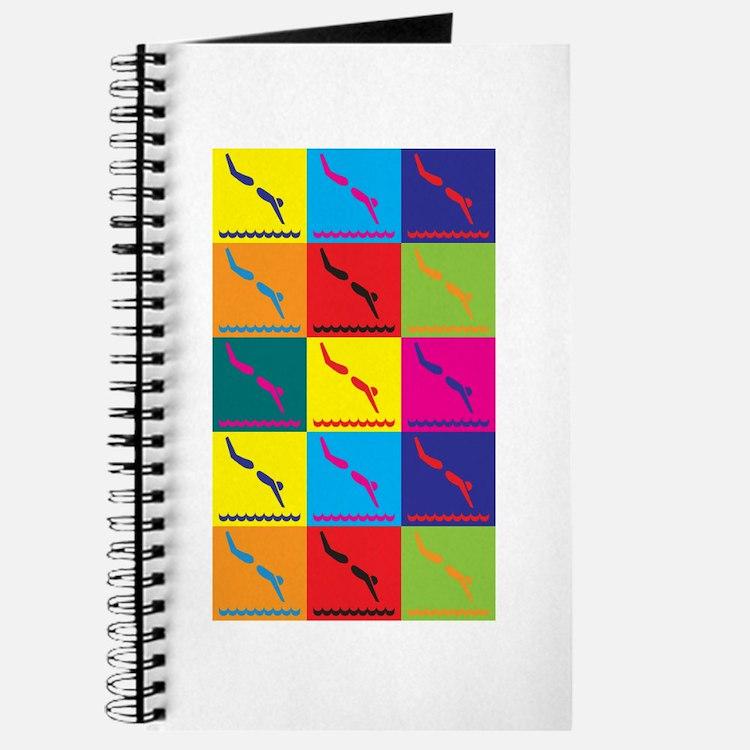 Diving Pop Art Journal