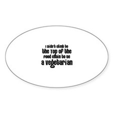 Top of the Food Chain Oval Decal