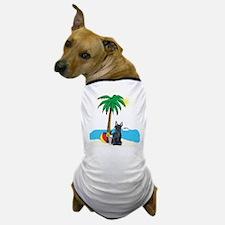 Beach Scottish Terrier Dog T-Shirt