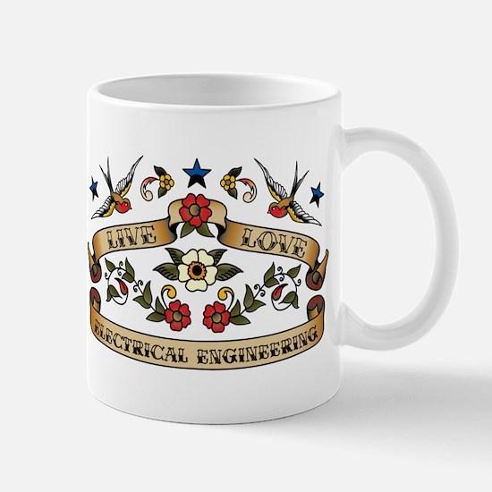 Live Love Electrical Engineering Mug