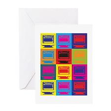Desktop Publishing Pop Art Greeting Card