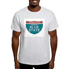 Missouri Blue State T-shirts T-Shirt