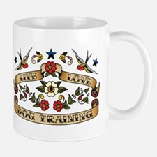Live Love Dog Training Mug